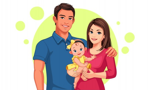 beautiful-illustration-father-mother-with-daughter_96037-102